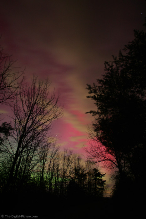 The Sky Is On Fire Northern Lights Picture