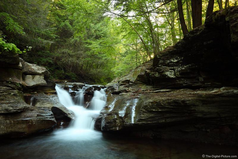 Waterfall Swimming hole at Rock Run