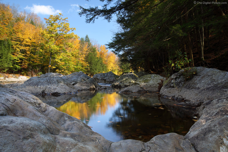Worlds End State Park Reflections of Fall