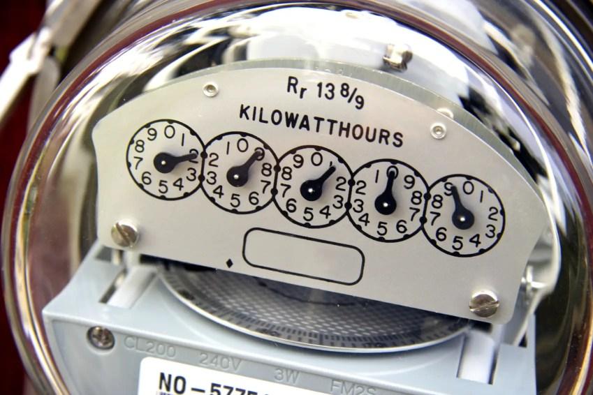 electrical bill meter