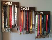 Simple Medal Holder, Display Your Race Medals | The DIY Life