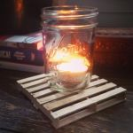 candle holder pallet