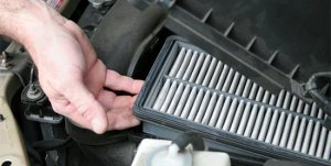 replace air filter