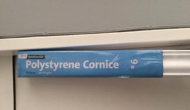 polystyrene cornicing