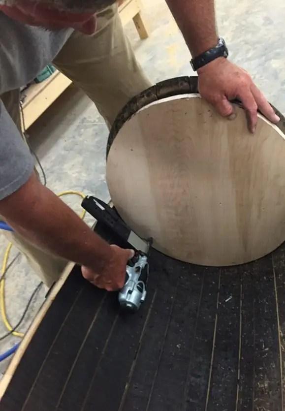 securing barrel ends