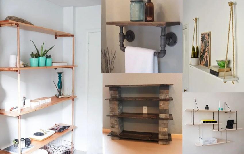 6 Easy Diy Shelf Ideas The Diy Life