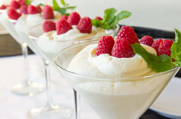 two ingredient white chocolate mousse