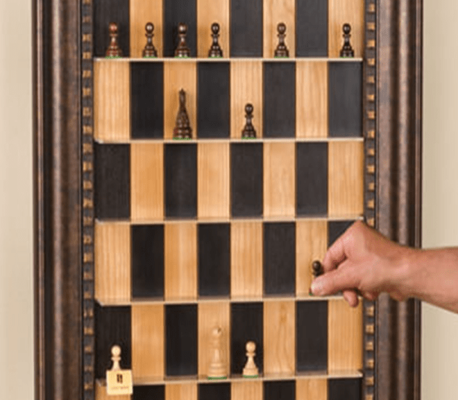 hanging chess board