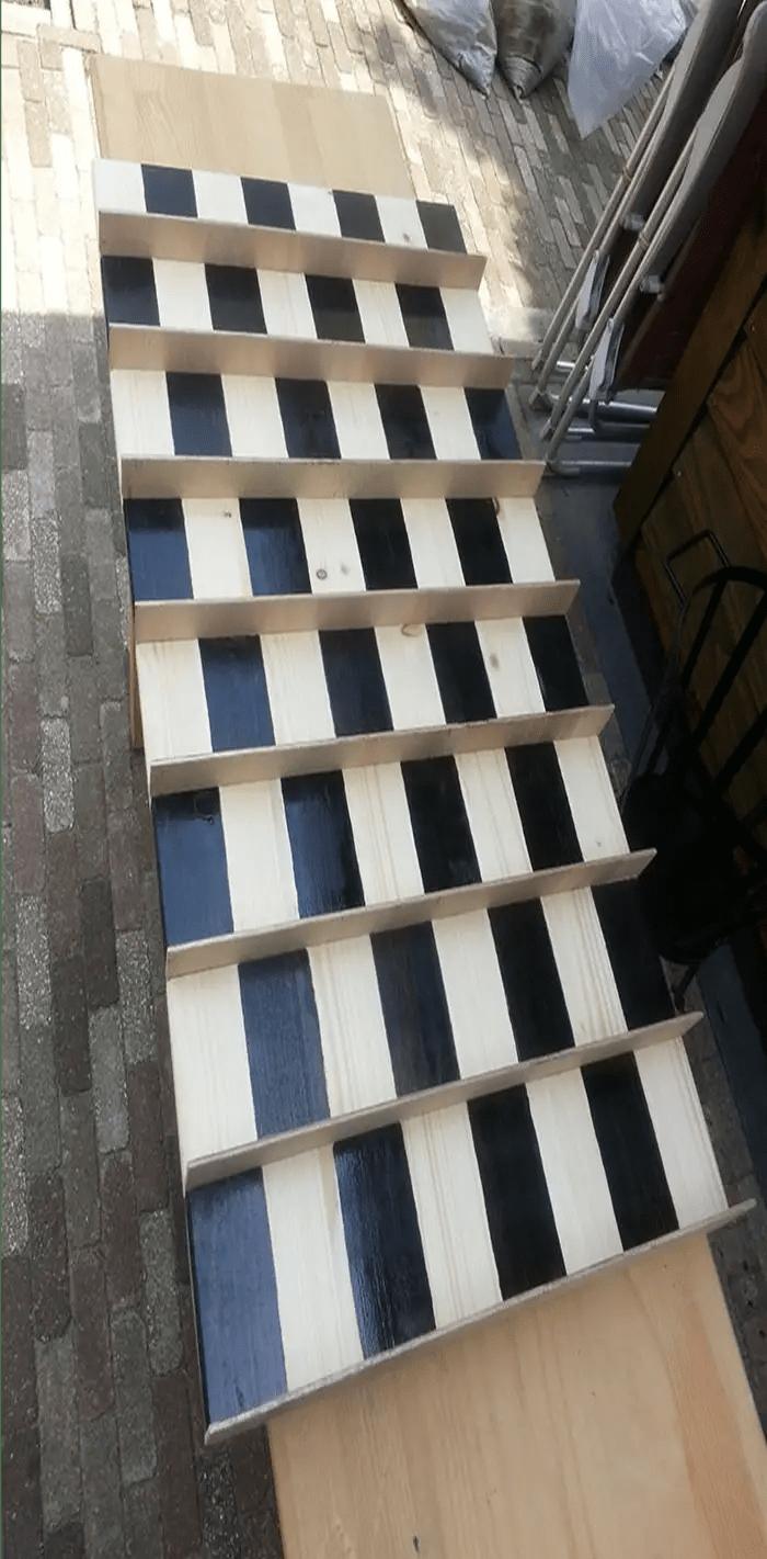 painted blocks