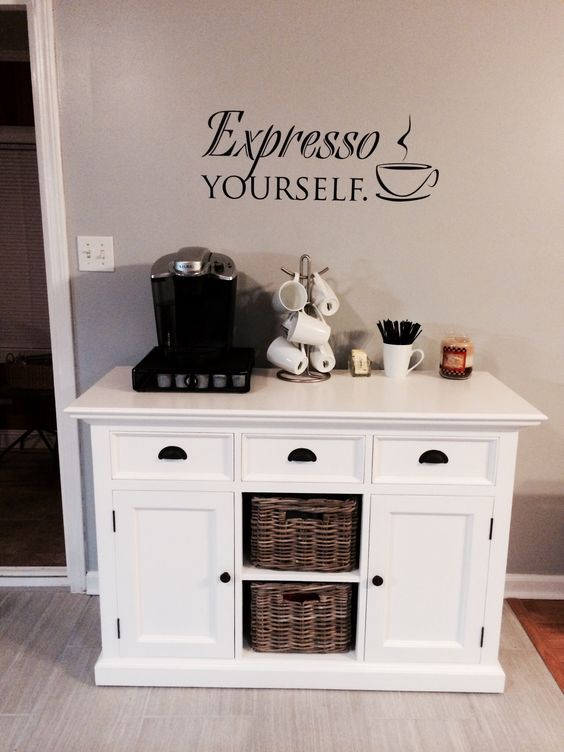 Small Coffee Bar Station