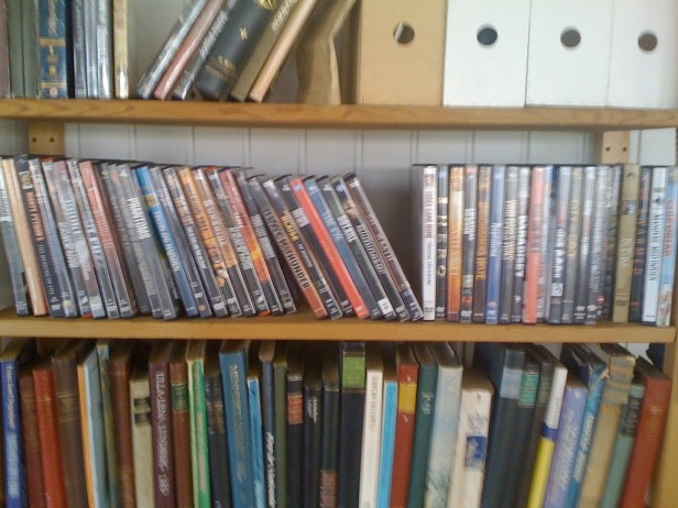 thrift store dvds