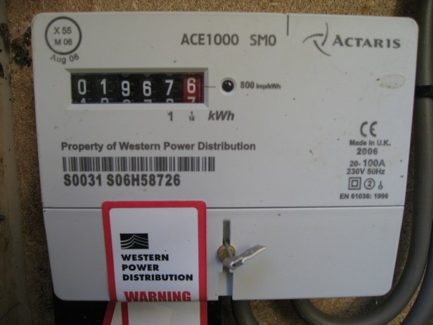 electricity meter reduce power