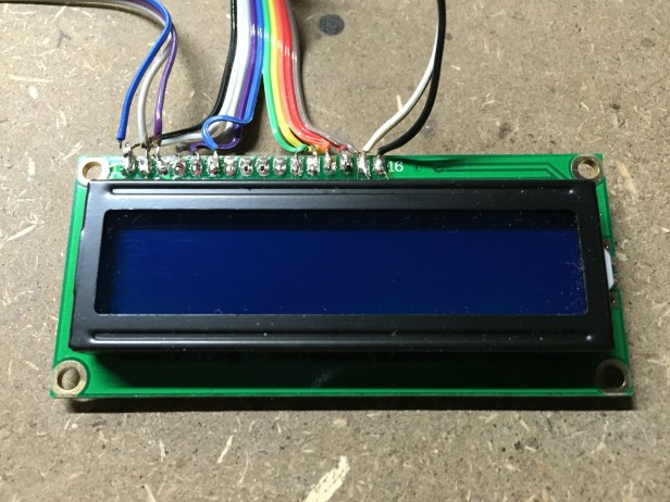 Connected LCD Screen