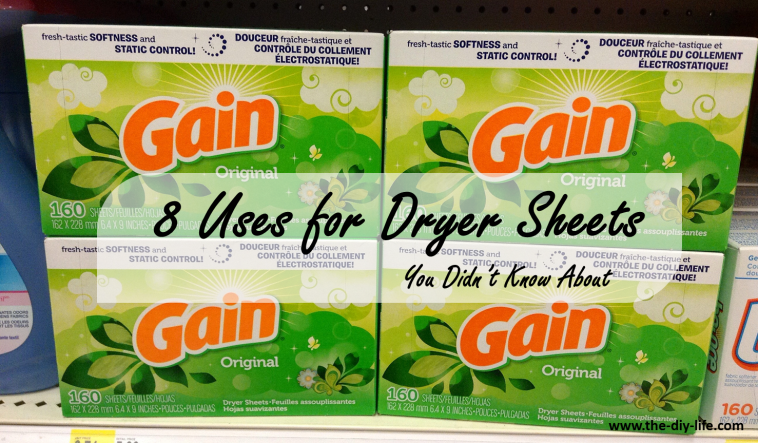 8 uses for dryer sheets