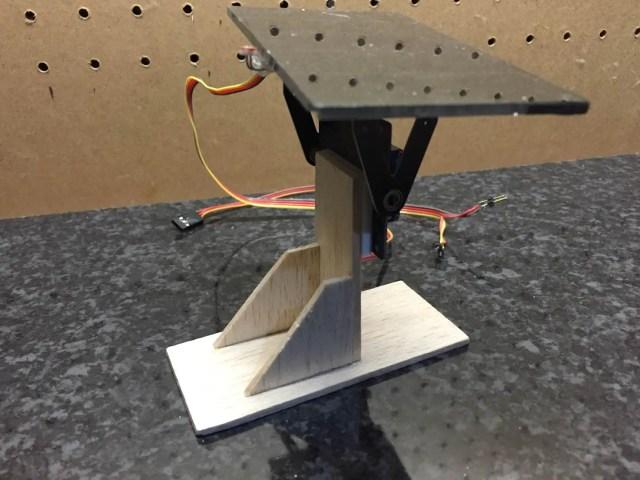 Solar Tracker Side View 2