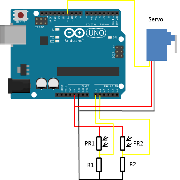 circuit diagram of solar power system 7 plug wiring trailer arduino tracker get more from your panels the diy life schematic