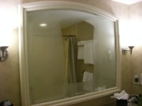 Stop Your Bathroom Mirrors From Fogging Up Permanently ...