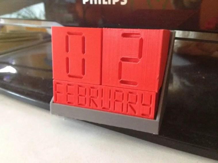 block desk calendar