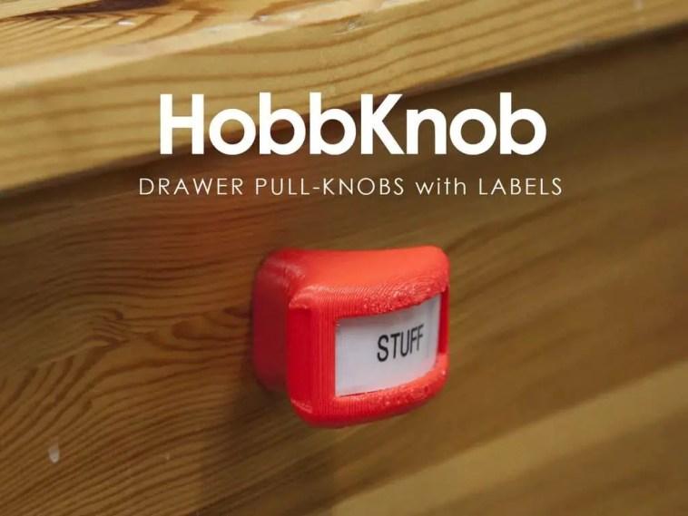 labelled door knobs