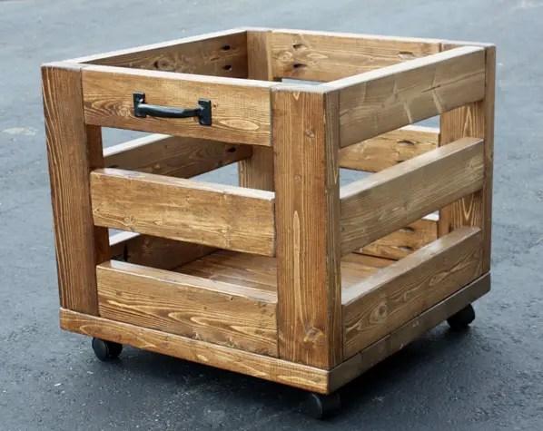2x4 storage bin