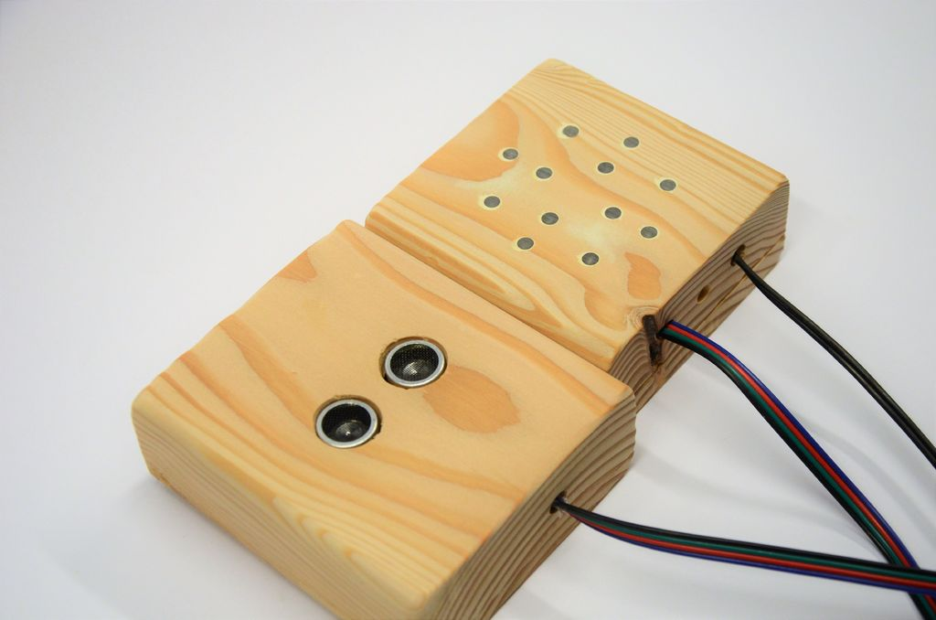 Arduino parking assistant perfect for a small garage