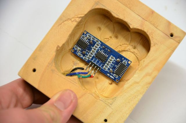 solder the sensor wires