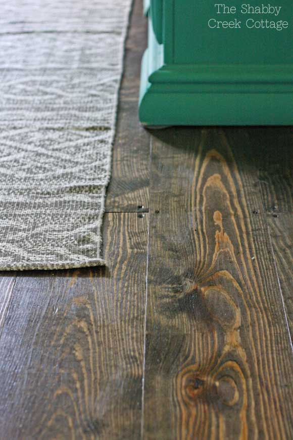 flooring using pine planks