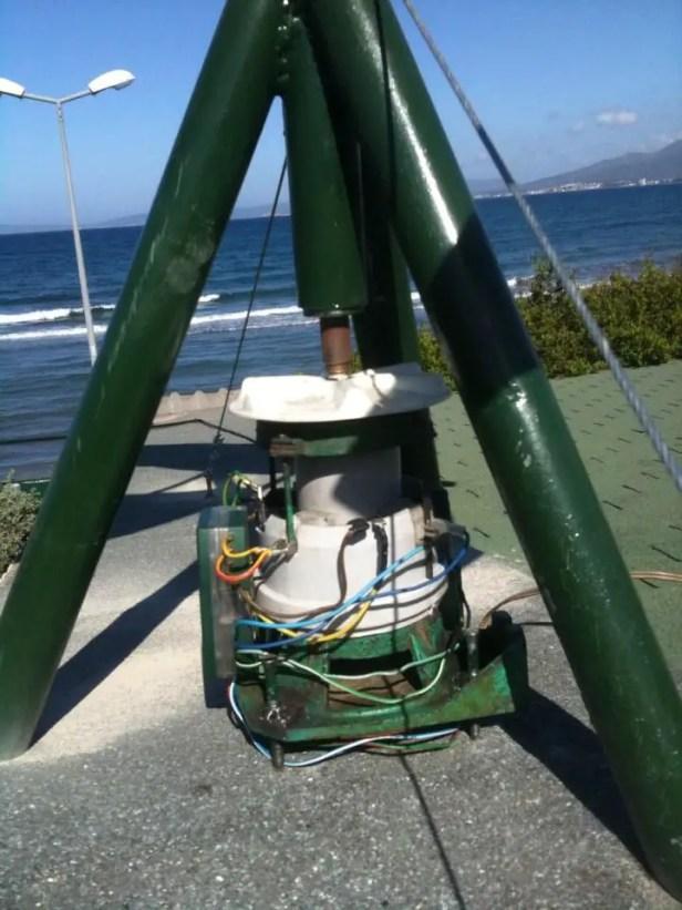 water pump generator