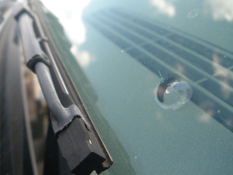 How To Repair A Chip In Your Windshield