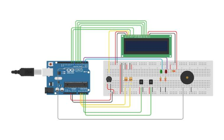 Off Grid Power Information System Circuit Diagram