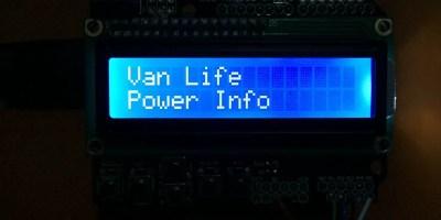 Van Life Power Information System