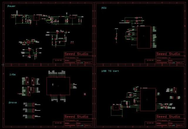 Seeeduino Board Schematic