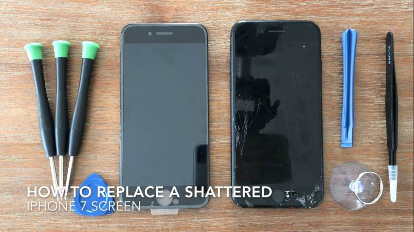 How To Replace A Shattered iPhone 7 Screen