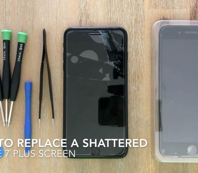How To Replace A Shattered or Cracked iPhone 7 Plus Screen