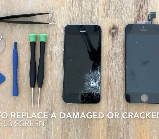 How To Replace A Damaged Or Cracked iPhone 5S Screen