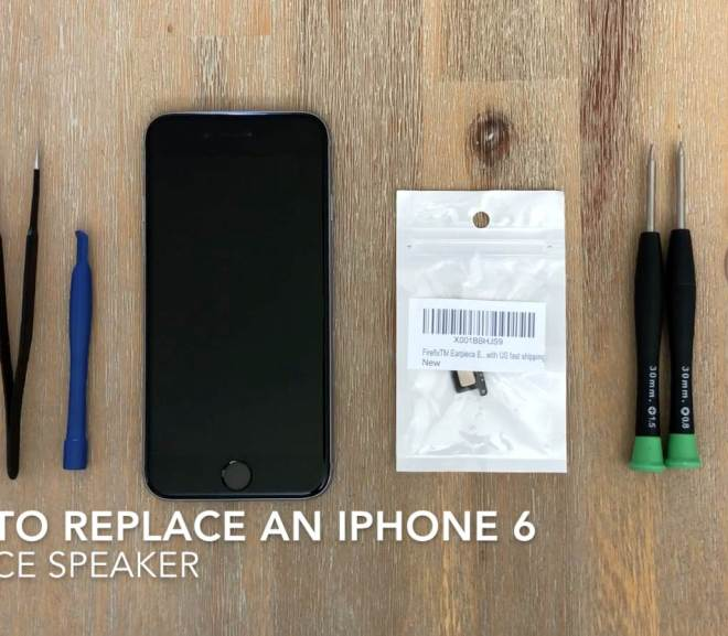 How to Replace The Earpiece Speaker on an iPhone 6