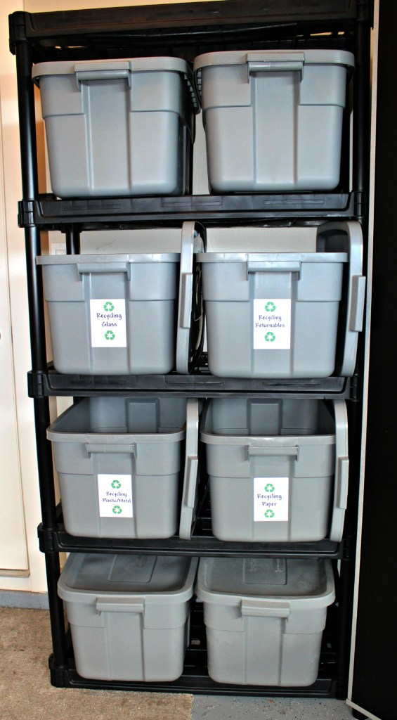 Plastic Storage Container Recycling Station