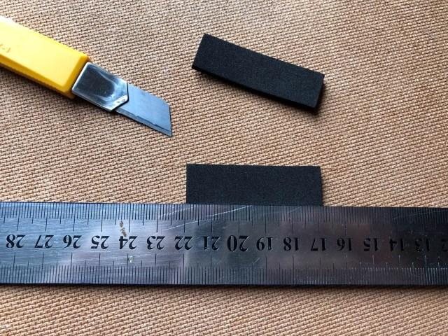 Cutting Foam Strips