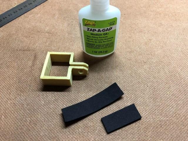 Glue The Foam Strips On