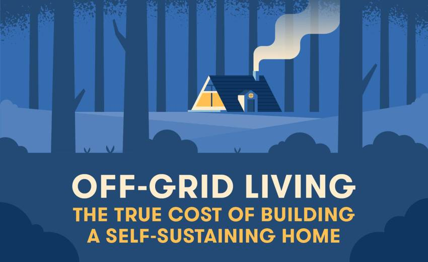 Off-Grid Living - The True Cost Of Building A Self Sustaining Home