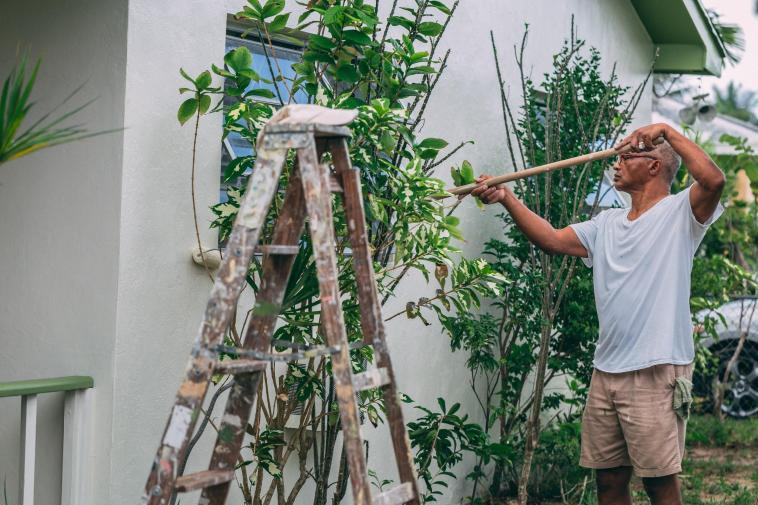 Start painting the exterior of your home