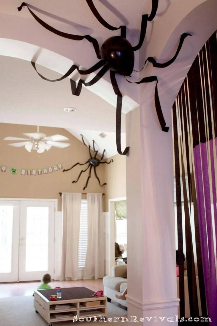 Corner Ceiling Spiders
