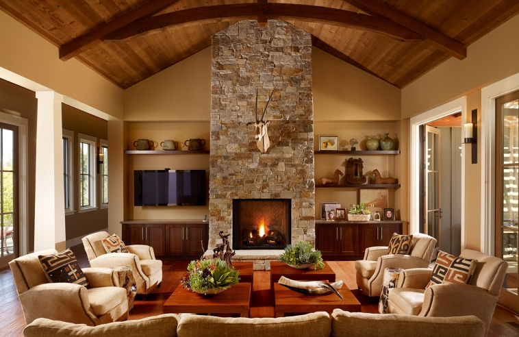 Go with the theme and fill your space with fall colors