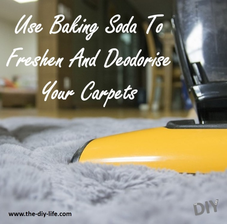 Use Baking Soda To Freshen And Deodorise Your Carpet