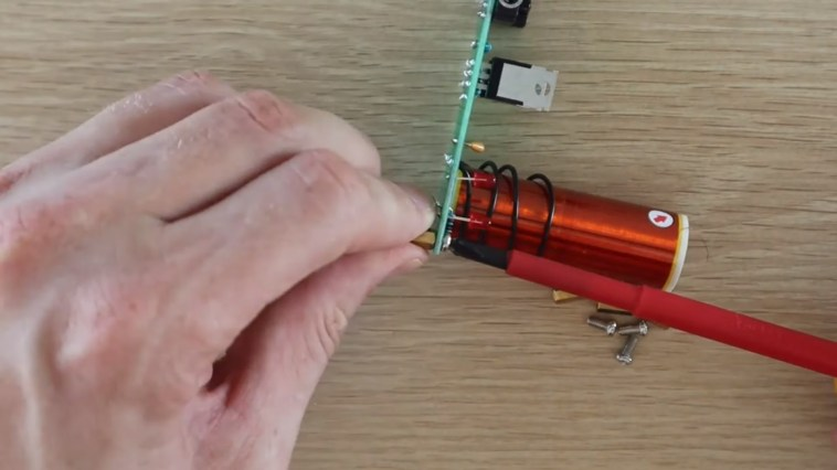 Putting Legs Onto The PCB