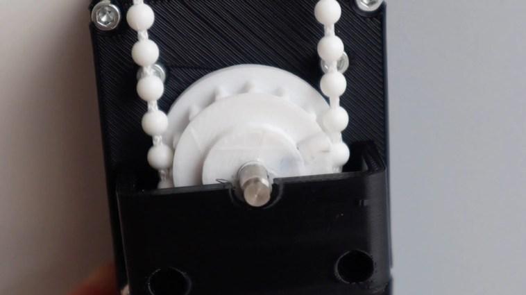 Arduino Blind Opener Gear
