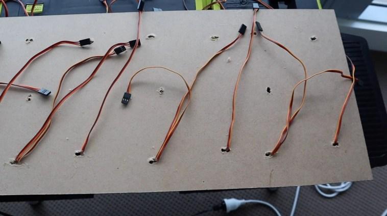 Feeding Wires Through To The Back