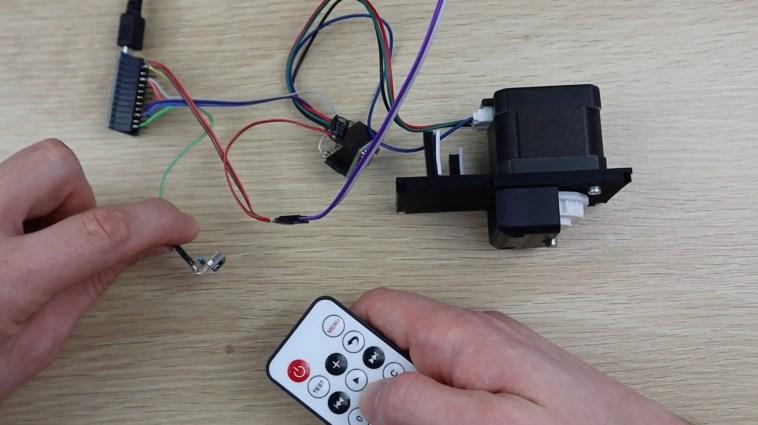Testing The IR Remote Control