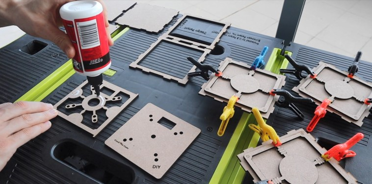 Glue The Box Components Together