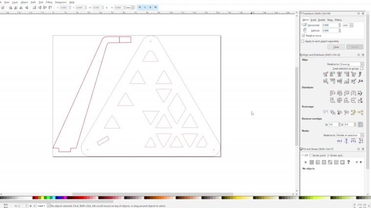 Inkscape Tensegrity Table Design